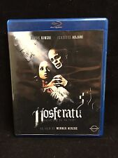 Nosferatu Fantome de La Nuit- Italian Import- French Language BLU RAY