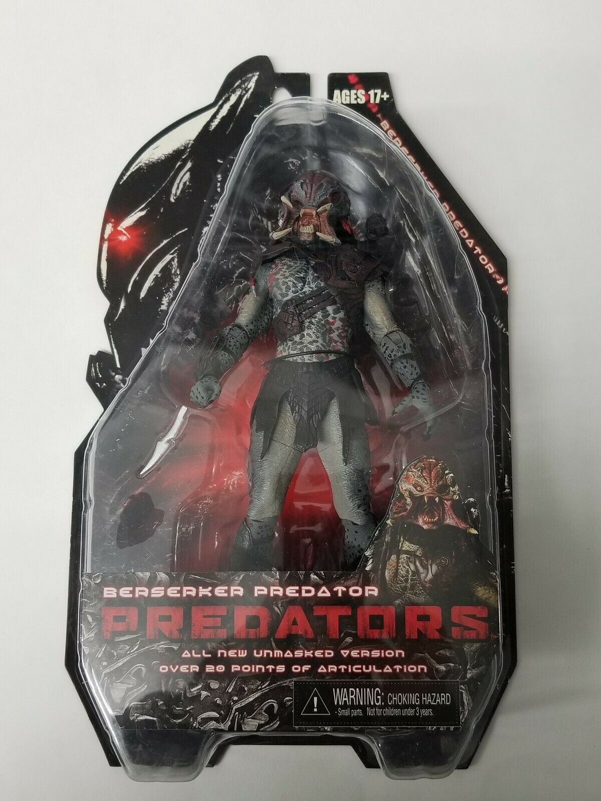 NECA Protators 2010 Movie Series 2 Action Figure Berserker Protator Unmasked 7