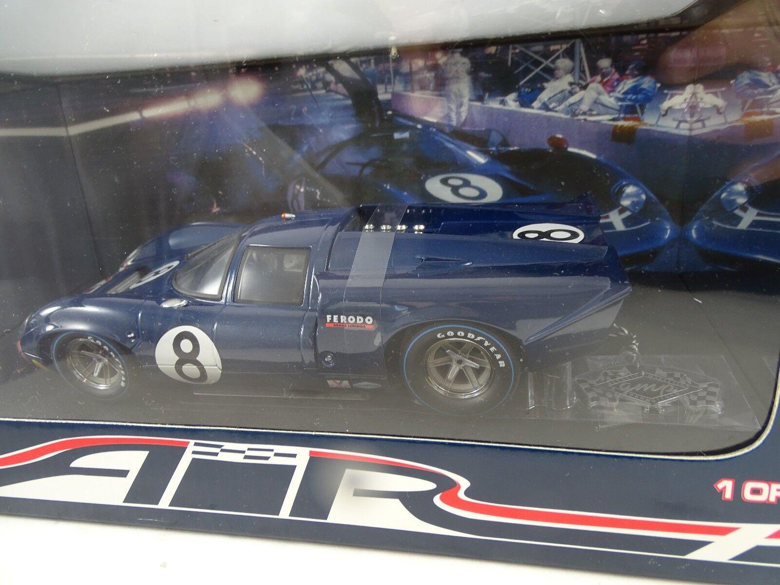 1 18 Gmp Leslie Motschenbacher 1969 Daytona Air T70 Lola Coupe Rare