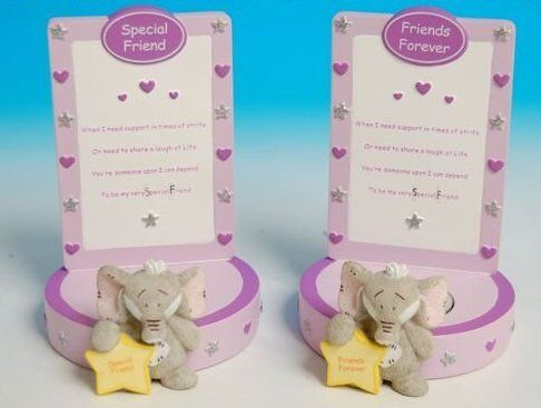 HATTIE THE ELEPHANT FRIENDS CANDLE//TEA LIGHT  HOLDER R47664