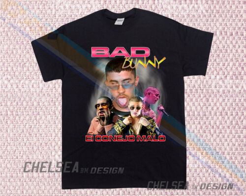 Inspired By Bad Bunny T-shirt Tour Merch Limited Edition Hip Hop Rap