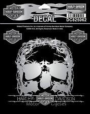 Harley Davidson Aufkleber Sticker Decal TNT Scull Motorcycles Biker Chopper