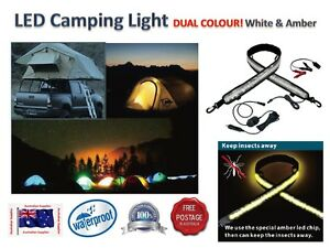 SUPER-BRIGHT-Awning-Camper-Tent-LED-FLEXIBLE-CAMPING-LIGHT-DUAL-COLOUR
