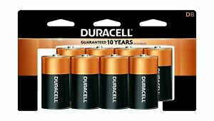 Duracell - CopperTop D Alkaline Batteries with recloseable package - long las...