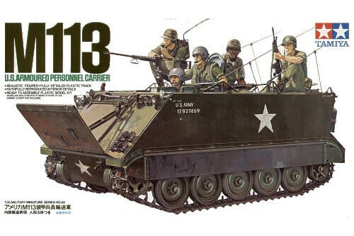 Armored Personnel Carrier M113 1:35 Plastic Model Kit TAMIYA U.S