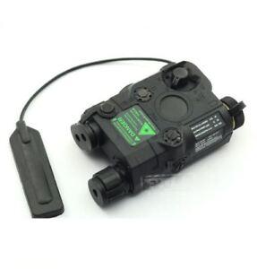 AIRSOFT-PEQ-15-LASER-LIGHT-TORCH-IR-PRESSURE-PAD-RIS-20mm-RAIL-M-SERIES-BLACK