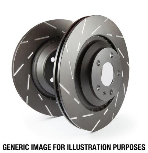 EBC Brakes USR1509 EBC USR Series Sport Slotted Rotor