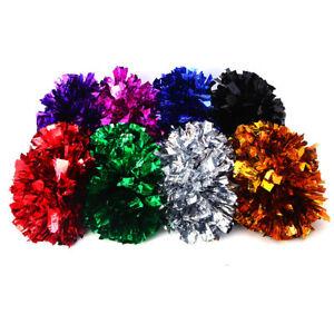 Pom-Poms-Cheerleader-Cheerleading-Hand-Flower-Cheer-Football-Dance-Club-Decor