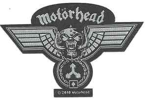MOTORHEAD-Hammered-cut-out-2010-WOVEN-SEW-ON-PATCH-official-merchandise-LEMMY