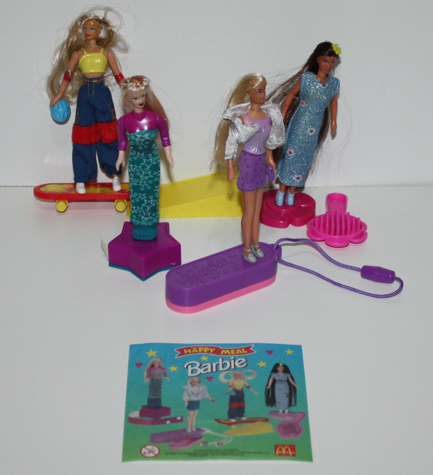 McDonald's MC DONALD'S HAPPY MEAL - 2000 Barbie Serie completa