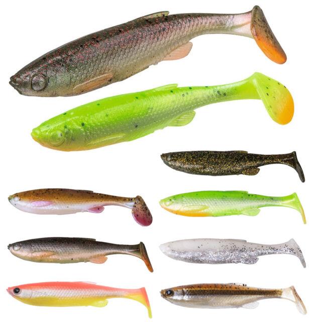 Savage Gear 3d Fat T-tail Minnow 7,5 9 10,5 13cm Shad goma pescado Zander Hecht