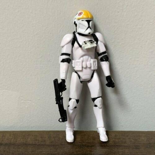 """Star Wars Clone Wars STORMTROOPER Pilot Darth Vader 2005 figure 3.75/"""" boy toy"""