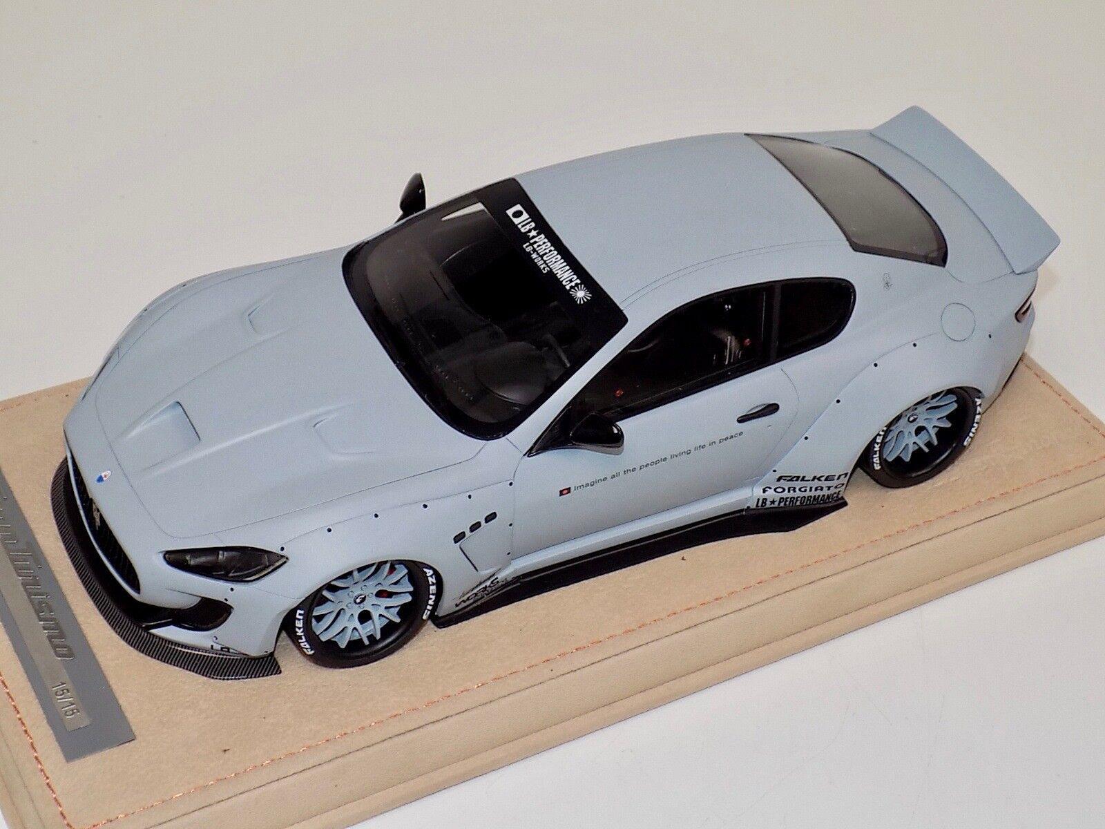 Modelos Maserati GranTurismo Liberty AB caminar Matt Coral ruedas Alcántara