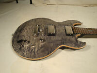 Dbz Guitars Royal Qm With Siberian Quilt Finish
