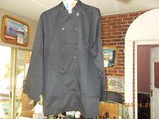 Chef Works Black Long Sleeve Chef Jacket Large Looks Unused