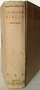 (1958) SAGRADA BIBLIA - Nacar Colunga