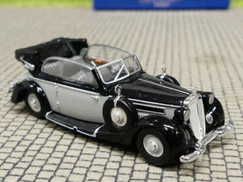 1//87 Ricko Horch 930 V Cabrio schwarz grau 38852