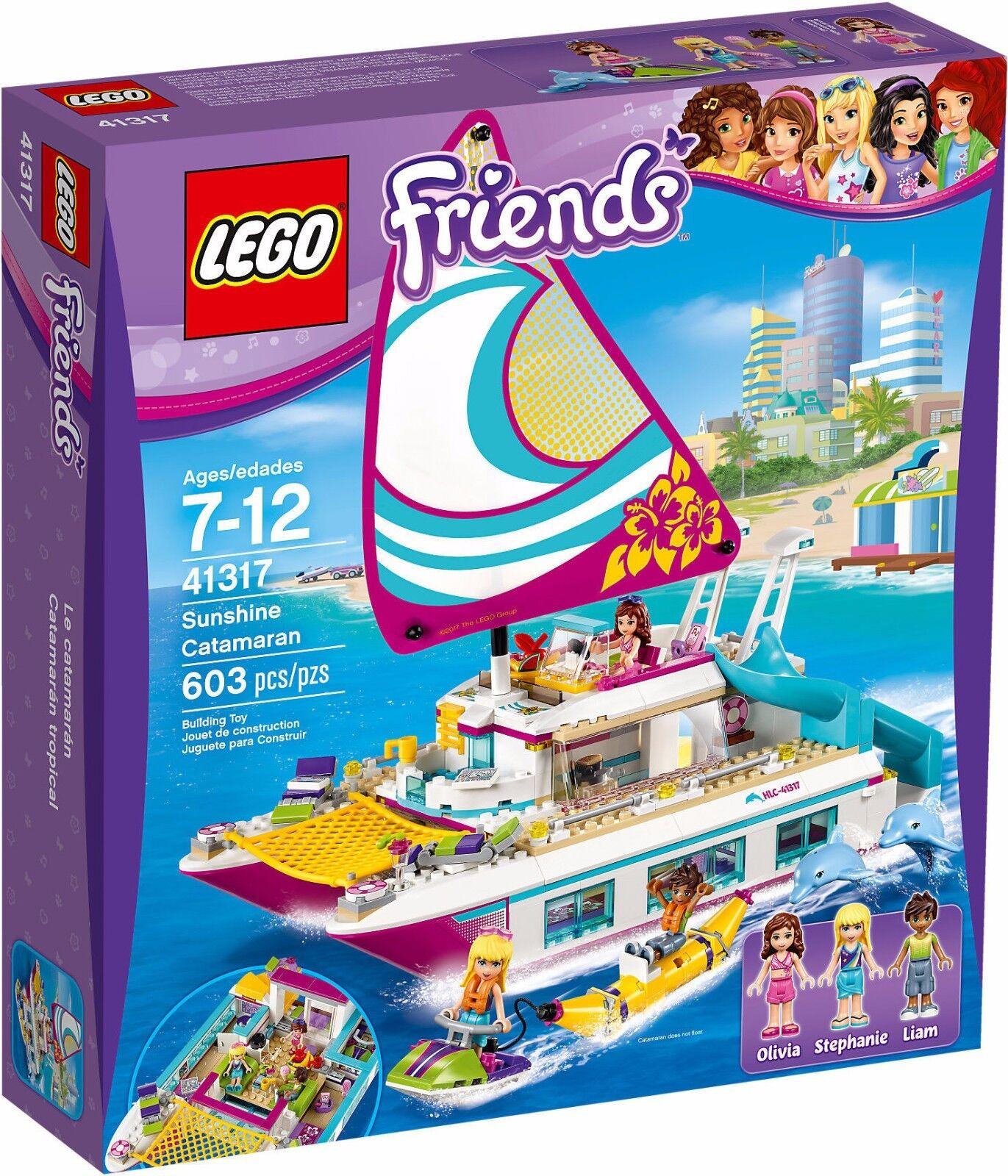 più ordine LEGO 41317 41317 41317 Friends Il Catamarano costruzioni mattoncini originali  prezzo all'ingrosso