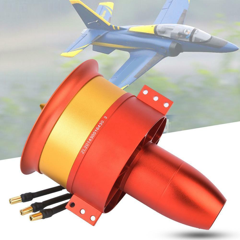 JP 90mm  12-Blades 6S 8S 12S Duct Fan with 840KV 4260 Motor tutti Set for RC Plane   tutto in alta qualità e prezzo basso