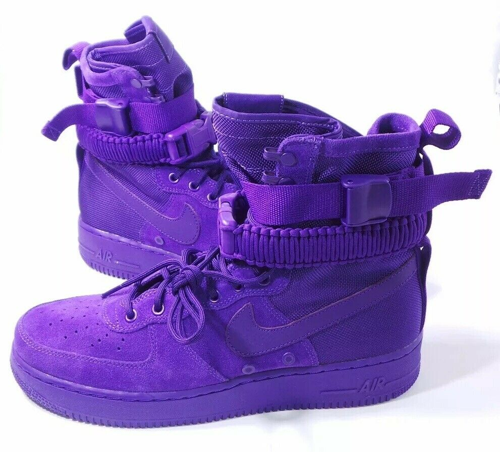 Nike Special Force Air Force 1 Court Purple Prm SF AF1 864024 500 Mens Size 11