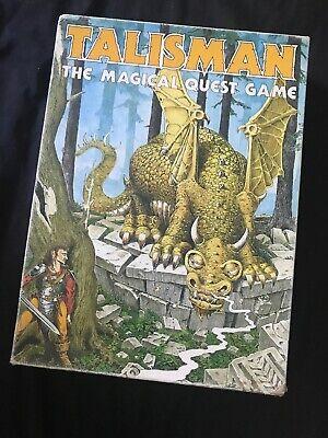 Talisman: Il Magico Quest Gioco, 1st Edizione 1983 Da Games Workshop-mostra Il Titolo Originale
