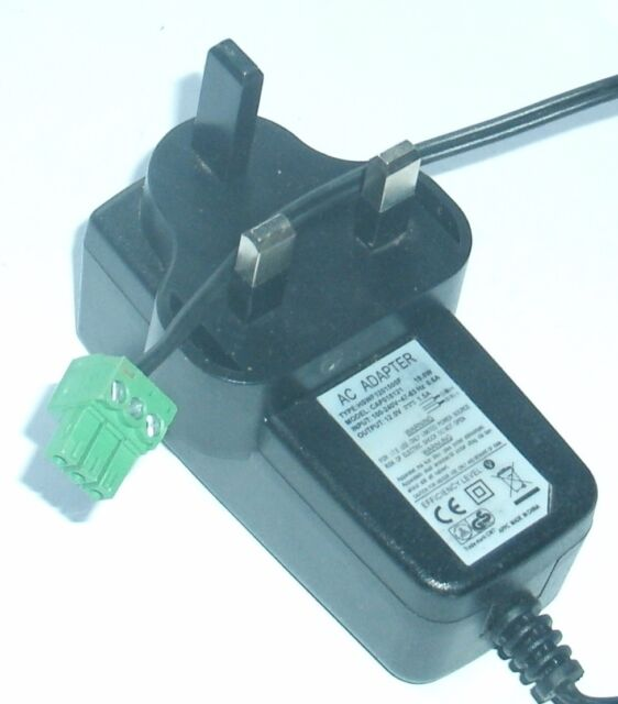Original Cwt Channel Well Technology CAP018121 Charger Adapter 12v ...