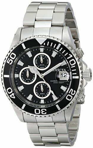 Invicta Men's Pro Diver Classic Analog Chronograph Japanese Quartz with 200 m W