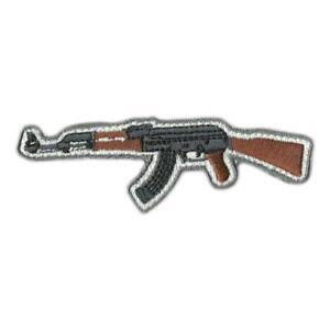 "VELCRO® BRAND Hook Fastener Compatible Hook AK47 Molon Labe Black 3x2/"""