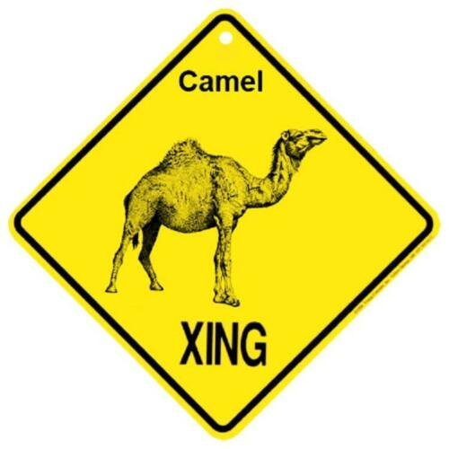 Camel Crossing Xing Sign New made in USA