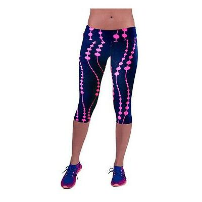 2016 Women Printed High Waist Leggings Fitness Stretch Yoga Sport Cropped Pants