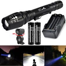 50000LM 12x XML T6 LED Taschenlampe Wasserdicht Torch Flashlight Lamp 18650 AKKU