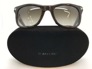 c738f3a7466c TOM FORD LEO TF336 05K SUNGLASSES 52-21-145 w. CASE NEW ...