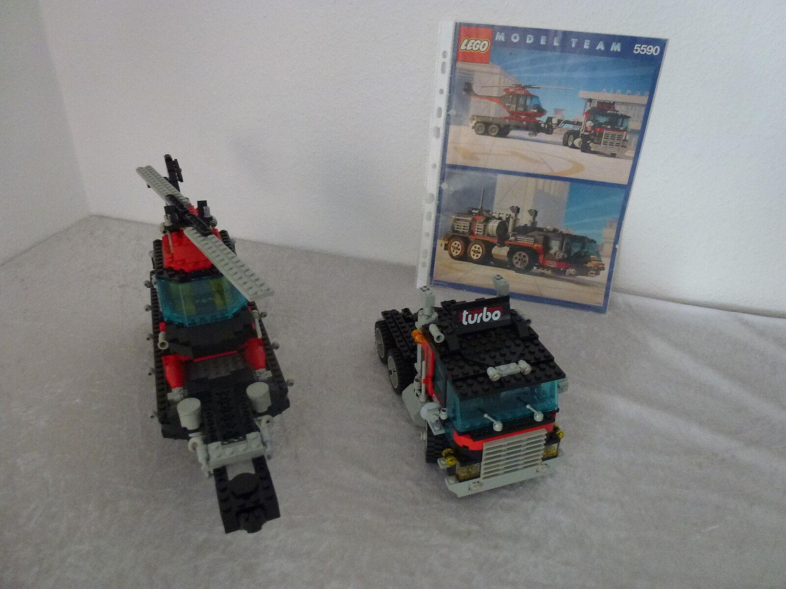 Lego modèle équipe 5590 camion avec Obadiah Obadiah Obadiah 2in1  RARE  de 1990 | Nous Avons Gagné Les éloges De Clients  adb82e