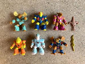 6-Hasbro-Vintage-Battle-Beasts-Action-Figures-Lot