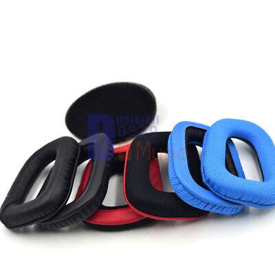 Replace ear pads ear cushion for logitech G130 G230 G430 G930 F450 F headphones | eBay