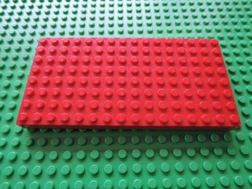 LEGO 1 X Pierre épaisseur Plaque 4204 ROUGE 8x16
