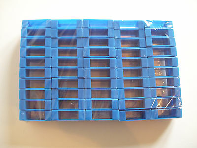 100 x BLUE SPACERS for National, Smith and WBC Hive Frames