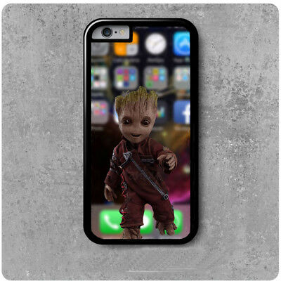 coque Iphone 4/5/6/7/8/X Les gardiens de la galaxie Bébé groot fond d'écran | eBay