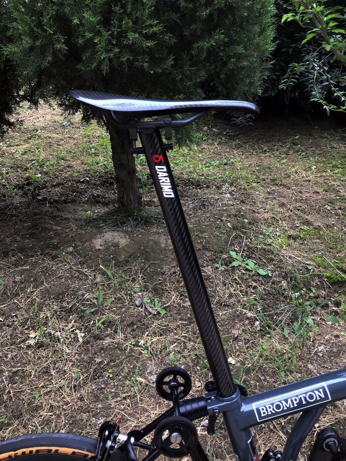 DARIMO seat post for BROMPTON 31.6600 only 128g (lighter than Schmolke)
