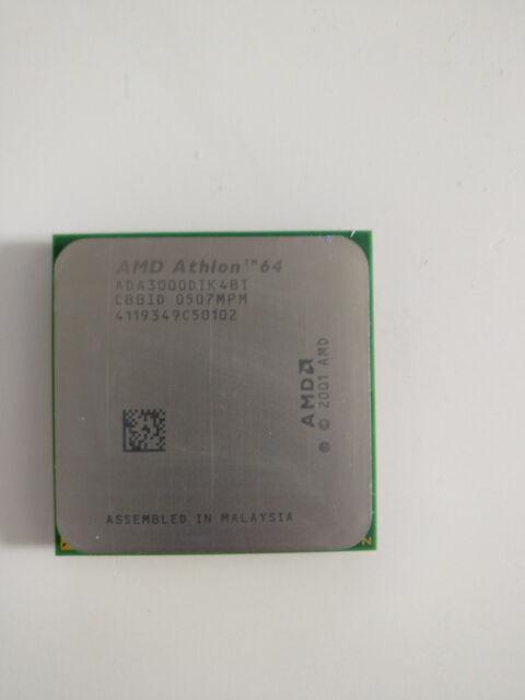AMD Athlon 64 3000+ 1.8GHz (ADA3000DIK4BI) Desktop Prozessor