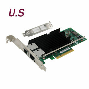 Details about Intel OEM X540-T2 PCI-Express 10G Dual RJ45 Ports Ethernet  Network Adapter