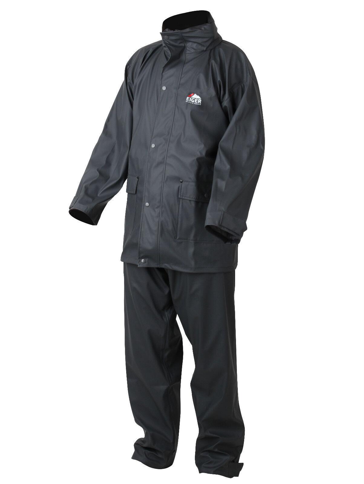 Eiger RAINY Set dimensioni scelta Tuta da pioggia Giacca impermeabile &