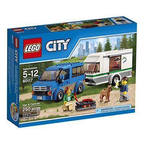 LEGO City City City Great Vehicles Van  Caravan 60117 Building Toy 3cb300