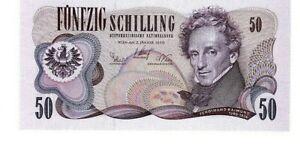 +++ats 50,--, Ferdinand Raimund, Schilling - Banknote Von 1970, Bankfrisch!