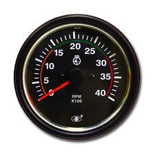 85 Mm Universal Tachometer For Diesel Engine 4000 Rpm For Alternator W Terminal