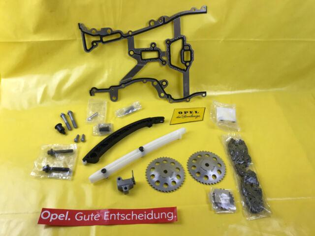 Nouveau Orig Opel Kit de Chaîne Distribution Corsa D 1,2 (80PS) 1,4 (90PS) +