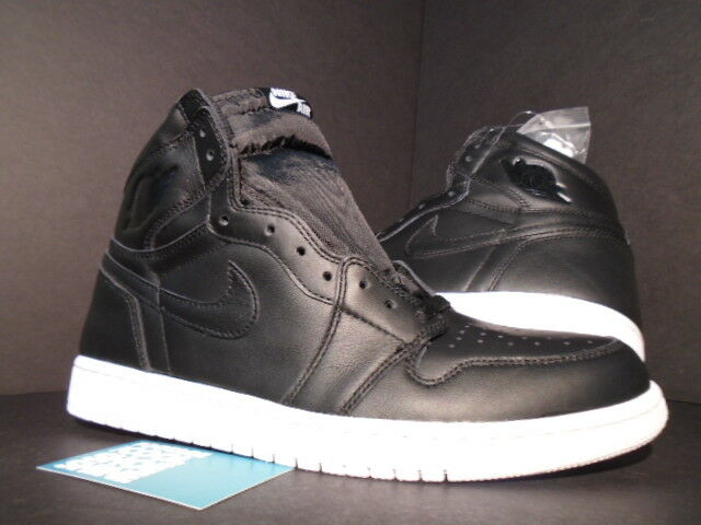 2015 Nike Air Jordan I Retro 1 High OG CYBER MONDAY BLACK WHITE 555088-006 DS 10