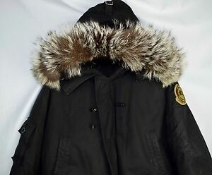 Rare-Canada-Goose-X-Earnest-Sewn-Ltd-Chilliwack-Men-039-s-M-Black-Bomber-Limited