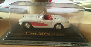 DIE-CAST-034-CHEVROLET-CORVETTE-1957-034-SCALA-1-43-AUTO-AMERICANE