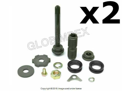 2 Mercedes FEBI 55-73 Eccentric Pin Kit for Upper Outer Control Arm Front